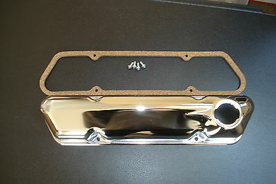 Volvo Valve cover  Chrome with gasket and screws fits 544 122 1800 140 New