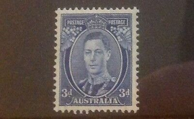 AUSTRALIA 1937 3d SG168c UNMOUNTED MINT..CAT £65