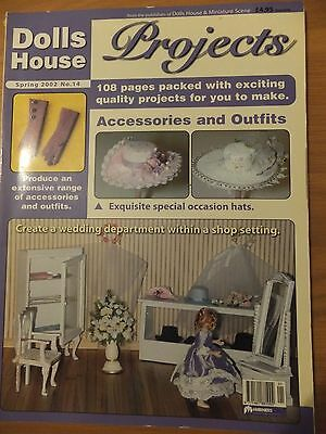Dolls House Projects No 14 ACCESSORIES & OUTFITS, SPECIAL OCCASION HATS