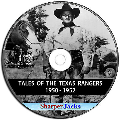 Tales of The Texas Rangers - Old Time Western Radio Show (Digitally Remastered)