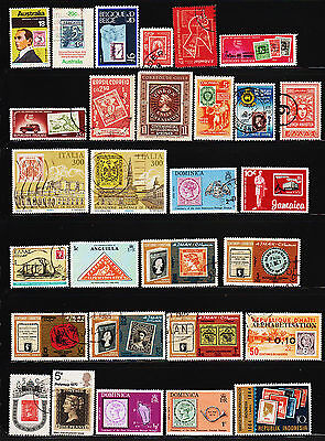 OPC 121 World Wide Collection Stamps on Stamps #22803
