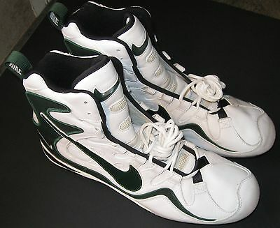 Near Perfect Mens Nike Zoom Air Football Cleats Size 14 Reggie White Style