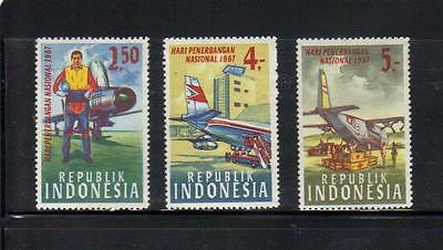 Indonesia 4 MLH stamps
