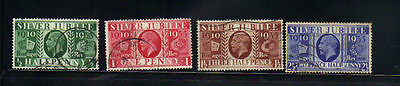 Great Britain 4 old used stamps