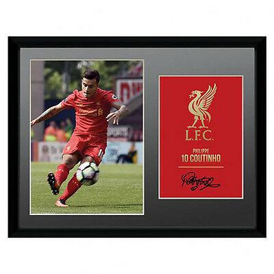 "Liverpool F.C -  16"" x 12"" Framed Picture (COUTINHO - 2016/17)"
