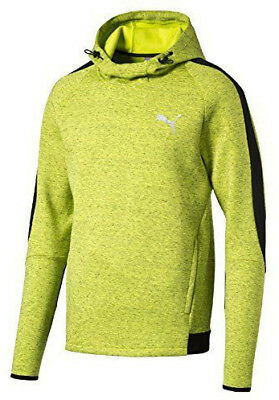 Puma Evostripe Proknit Overhead Mens Hooded Top - Green