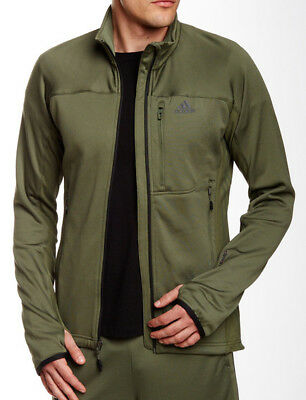 adidas Terrex Swift Hollow Mens Fleece Jacket - Green