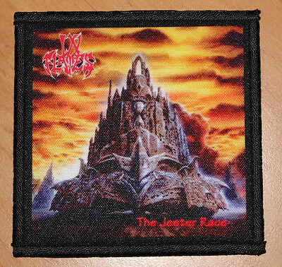 """IN FLAMES """"THE JESTER RACE"""" silk screen PATCH"""