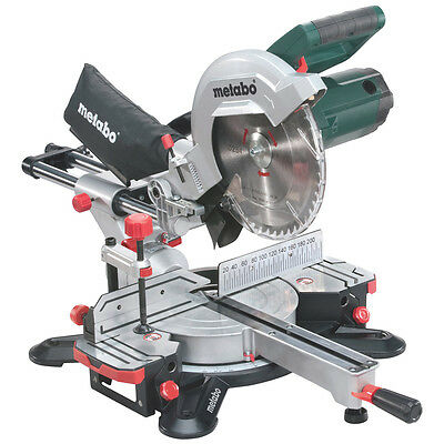 Metabo KGS254M Sliding Mitre Saw 254mm 1800w 240V - New 2015 Model