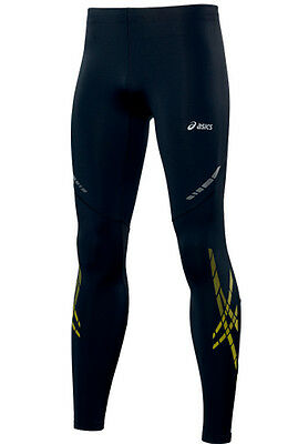 Asics Speed Mens Running Tights - Black