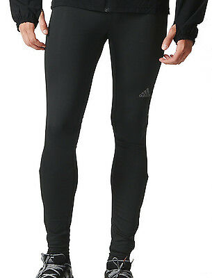 adidas Supernova Mens Long Running Tights - Black