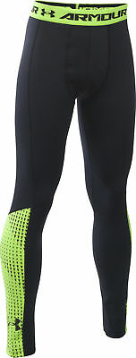 Under Armour Up ColdGear Junior Running Tights - Black
