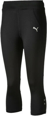 Puma Active Rapid Junior 3/4 Running Tights - Black