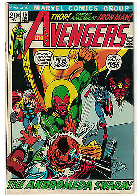 Marvel Comics THE AVENGERS Issue 96 The Andromeda Swarm! FN-