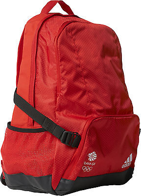 adidas Team GB Rio Performance Backpack - Red