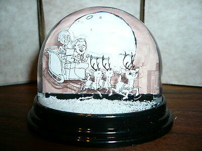 "Erasure Snow Globe Revisited ""sleigh Ride"" Official Promotional Snowglobe"