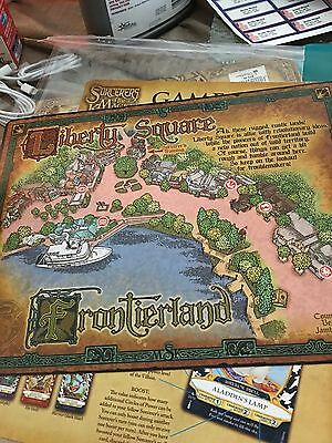 Sorcerers Of The Magic Kingdom Board Game With Maleficent Game Board