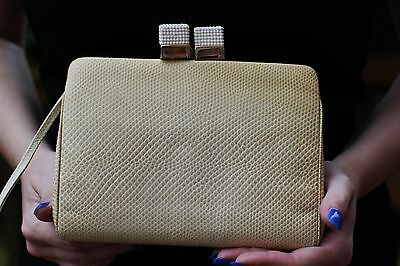 c0eed076310ca Judith Leiber Swarovski Crystal Sugar Cubes Coated Leather Bag Minaudiere  Clutch