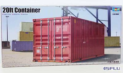 Trumpeter 1:35 01029 20ft Container - NEU!