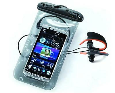 Ksix Universal Waterproof Pack Case + Headphones   Accessori per cellulari