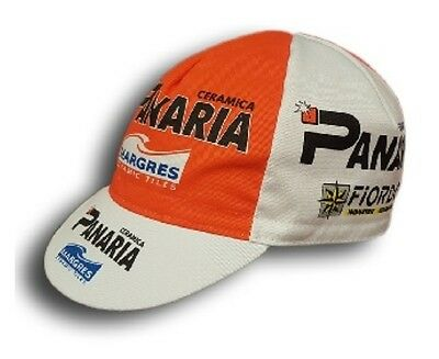 PANARIA RETRO CYCLING TEAM CAP - Vintage - Fixed Gear - Made in Italy