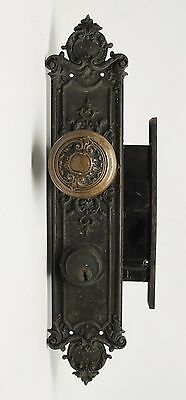 Louis XIV Entry Ornate Bronze Knob Set