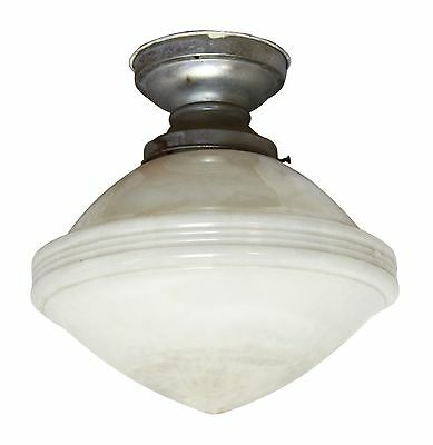 Large Milk Glass Light Fixture