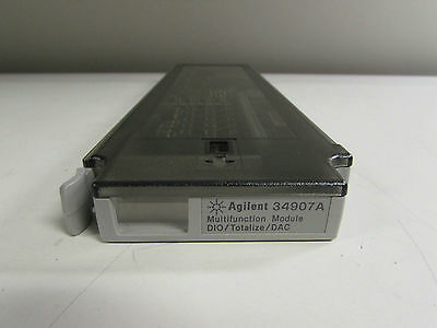 Agilent Keysight 34907A Multifunction Module, DIO/Totalize/DAC for 34970A