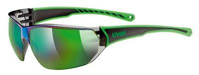 Uvex 204 One Size Green/Black Gafas hombre