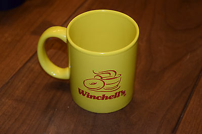 Coffee Mug Advertising Cup Winchell's Donut Dunkin Starbucks