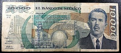 MEXICO: 1991, 10000 Pesos Banknote, Serie PY, P-90d ◢ FREE COMBINED S/H ◣