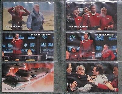 Star Trek Generations Complete Basic Set Of 72 Cards