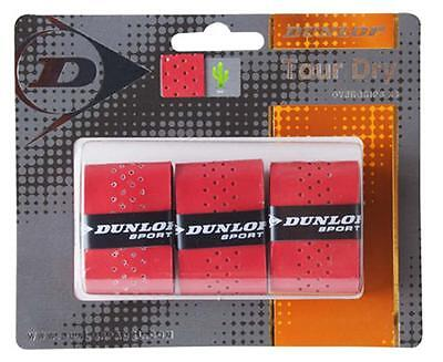 Dunlop Overgrip Tour Pro 3 Units Red Padel