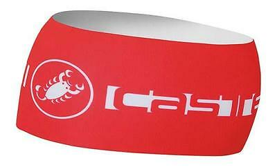 Castelli Viva Thermo Headband One Size Red Bandeaux