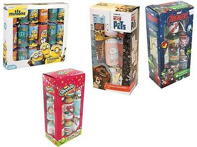 Childrens Boys & Girls Kids Dinner Table Deco Fun Christmas Xmas Crackers New