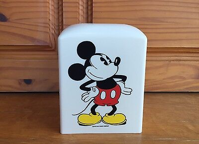 Vintage Classic Mickey Mouse Collectible Tissue Box Cover Walt Disney Sears