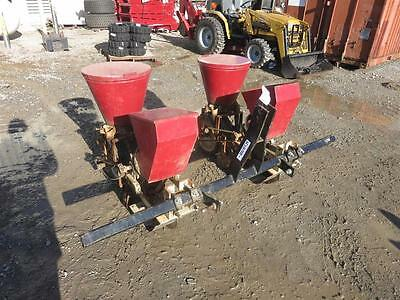 Burch 3Pt Two Row Planter For Tractors, Adjustable Row Spacing,three Seed Plates
