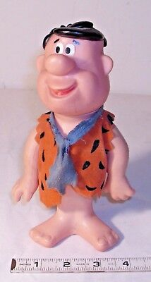 FRED FLINTSTONE R. DAKIN DOLL FIGURE 1970s SHARP!