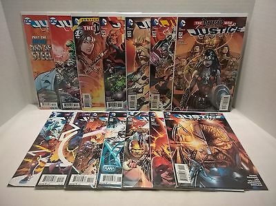 Justice League 40-52 + Darkseid War Special 1 + 6 One-Shots DC Comics Issue Lot