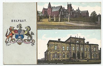 northern ireland postcard ulster irish co. antrim belfast