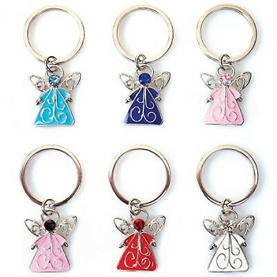 Guardian Angel Key-ring. Key Charm. Gift. Choose from 6 colours