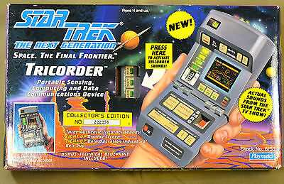 1993 Star Trek Next Generation Electronic Tricorder Scanner Playmates 6153 New