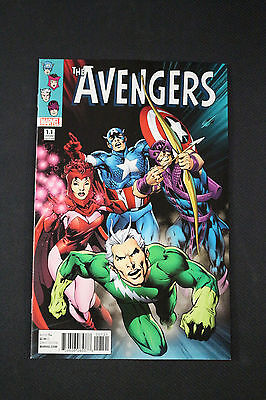 Avengers #1.1 Alan Davis 1:50 Incentive Variant Edition Cover Scarlet Witch 2016