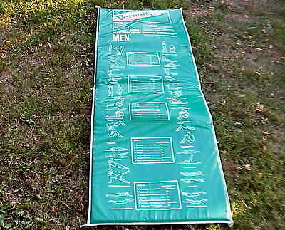 "VERY Vintage Vernors Vernor""s Ginger Ale Men's & Woman's Exercise / Fitness Mat"