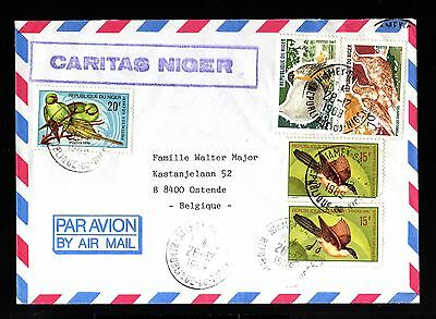 12991-REPUBLIQUE du NIGER-AIRMAIL COVER NIAMEY to BELGIUM.1968.FRENCH Colonies