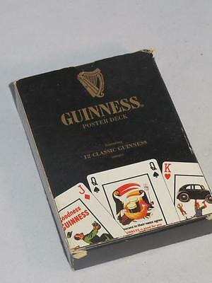 Collectable Guinness Playing Cards (Poster Deck 12 Classic Advertising Images)