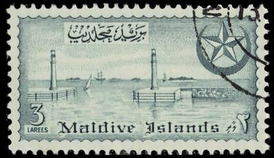 MALDIVE ISLANDS 32 (SG33) - View of Male Harbour (pa23601)