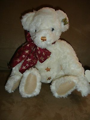 """Annette Funicello 14"""" Musical Teddy Bear """"Twinkle""""  Limited Ed QVC 1997 COA"""