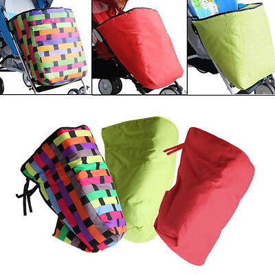 Windproof Baby Stroller Foot Muff Buggy Pushchair Pram Cotton Warm Foot Cover