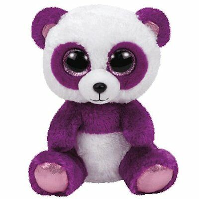 Boom Boom The Purple Panda  Ty Beanie Boos New Release  Brand New